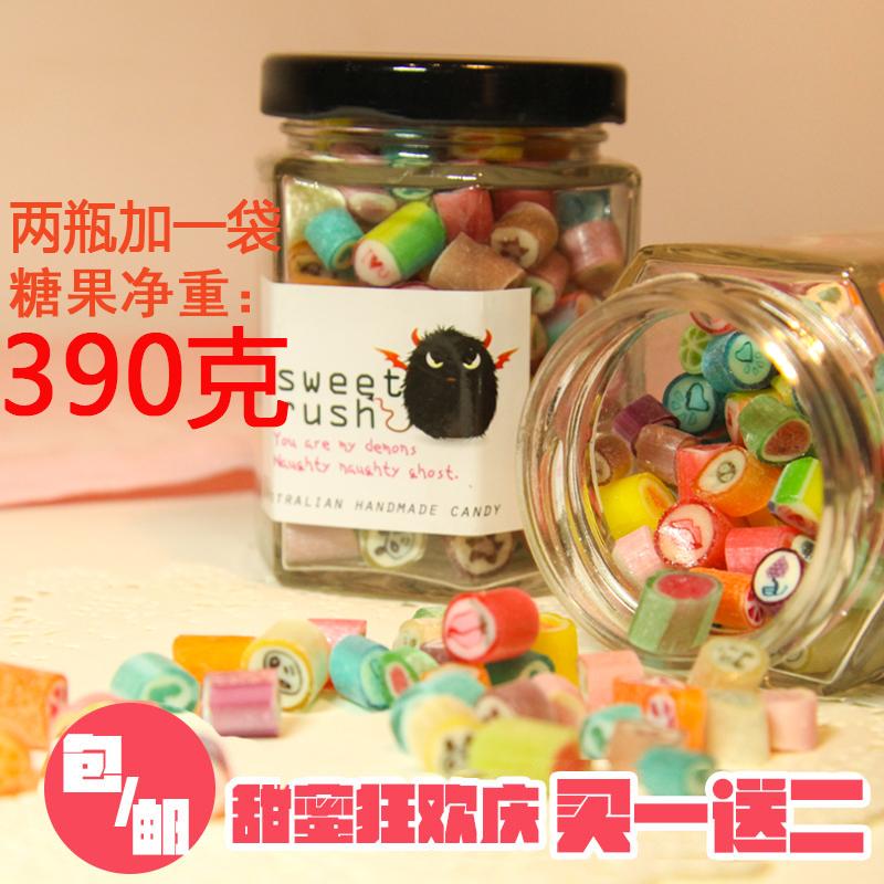天天特价澳洲工艺手工糖果水果味切片硬糖休闲零食创意糖节日礼物