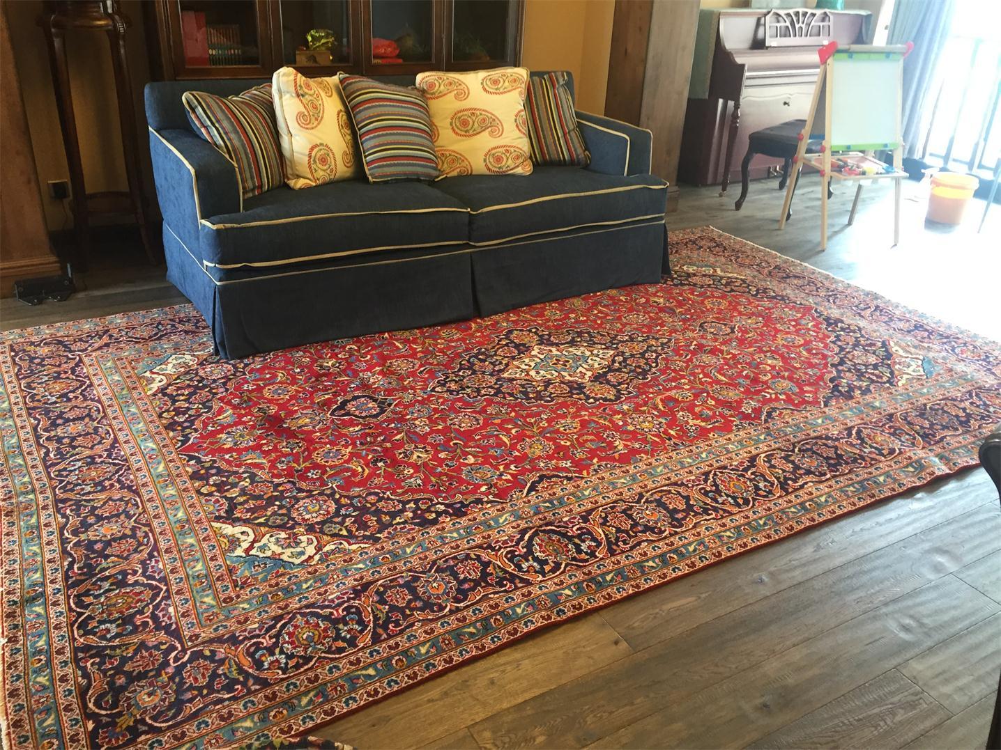 伊朗波斯羊毛地毯