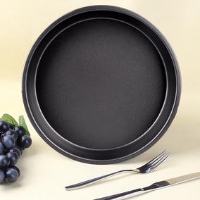 披萨盘 家用 烘焙 烤箱用 披萨盘8寸9寸批萨烤盘烘焙模具八寸九寸