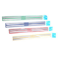 Qifu 30cm magnetic strip office whiteboard magnet hard magnet long strip strip magnet