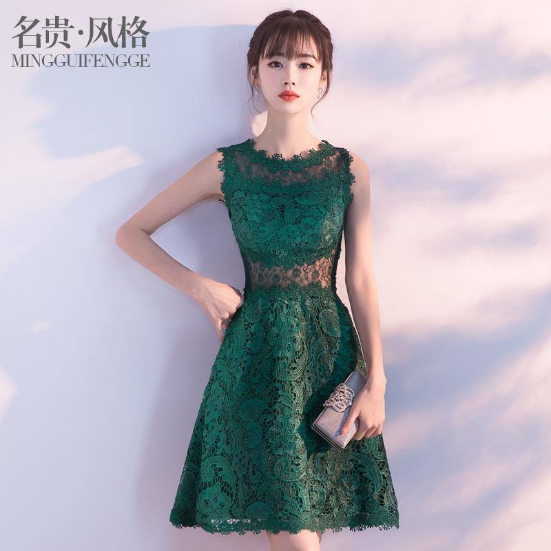 时尚晚礼服韩版