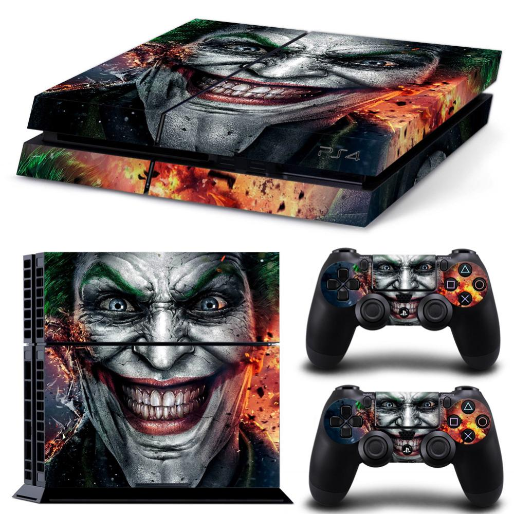 sticker skin for PS4 4 game console PlayStation 4 game conso