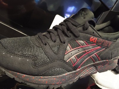 新品美国代购Asics Gel Lyte v Black  Speckle黑武士 红武士