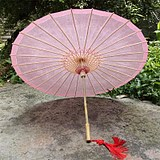 Cangzhou oil paper umbrella rainproof sunscreen dance performance COS classical Jiangnan tung oil umbrella plain color series A