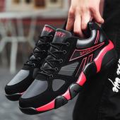 2017新款冬季休闲运动男鞋百搭韩版男士旅游跑步潮鞋加绒保暖棉鞋