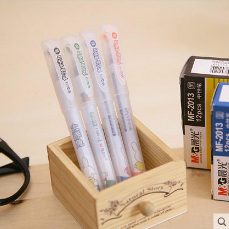 包郵 晨光MF2013大容量 米菲大赤兔大容量中性筆 1500米簽字筆