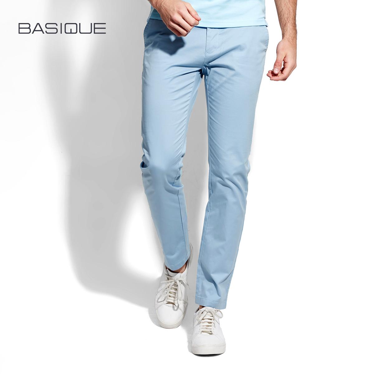 薄款彩色长裤