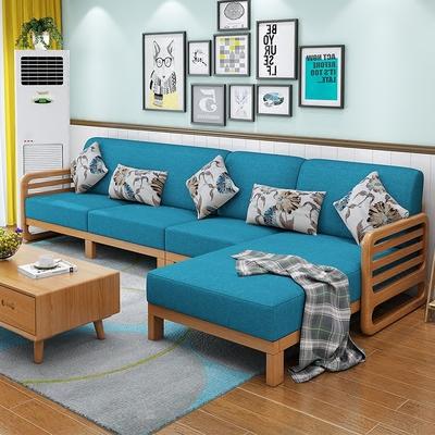 白橡木沙发客厅哪款好