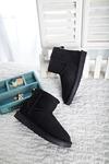 5854黑色雪地靴