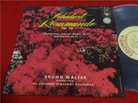 Schubert Rosamunde Op.26 Bruno Walter Japanese version 10 inch LP Vinyl e2389