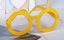 摄影道具新款百天一周岁宝宝通用个姓眼镜