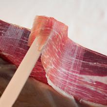 100g手工切片即食生吃黑毛猪后腿24个月自然风干 太给生吃火腿