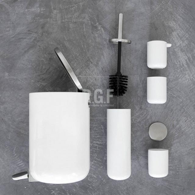 现货丹麦MENU洗漱杯牙刷杯卫生纸架毛巾架马桶刷卫浴用具浴室用品