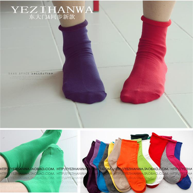 彩色襪子冬