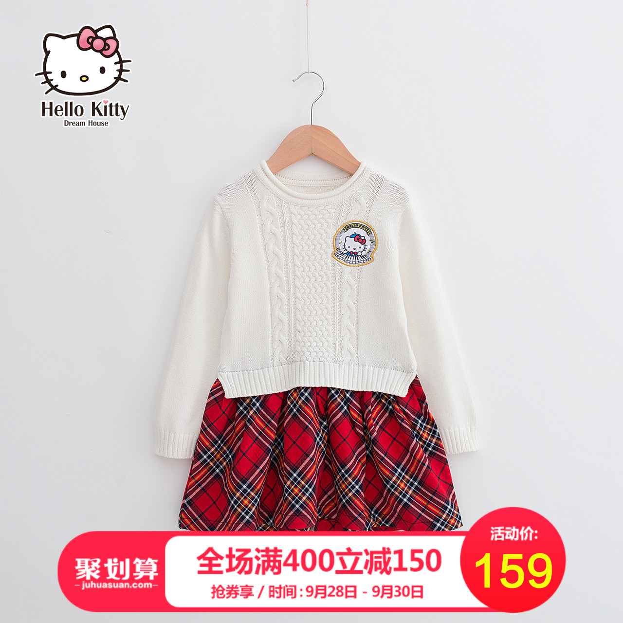 童装女童冬装连衣裙