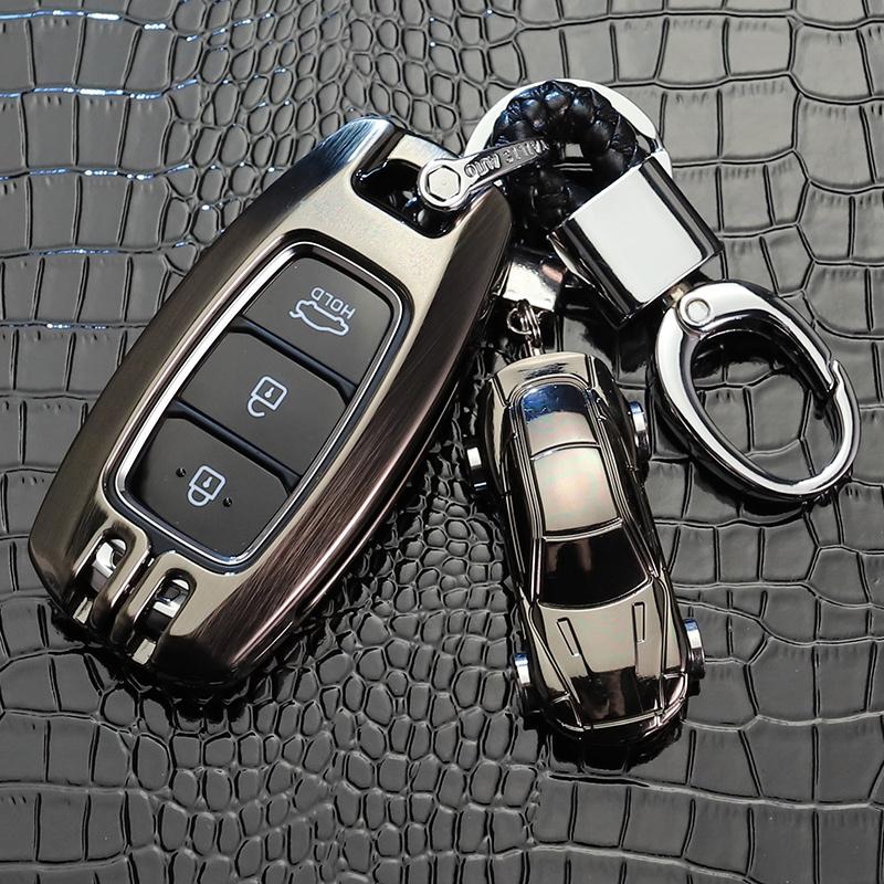 北京现代菲斯塔钥匙套高档2019款汽车扣新一代ix35壳i35非斯塔包