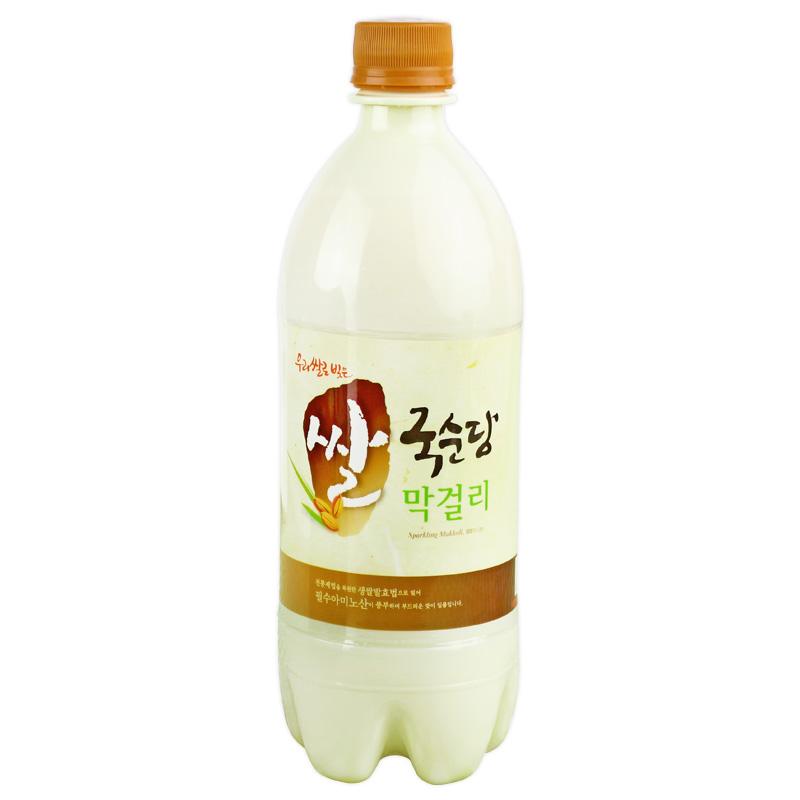750ml 韩国进口米酒麴醇堂玛克丽米酒朝鲜延边孕妇产后月子米酒水