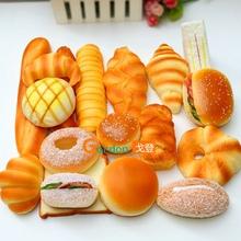 仿真食物模型汉堡吐司面包幼儿园过家家玩具橱窗样板房摆设道具
