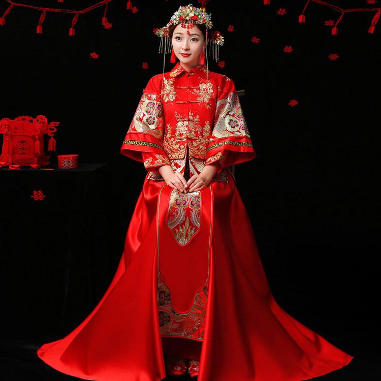 结婚穿旗袍