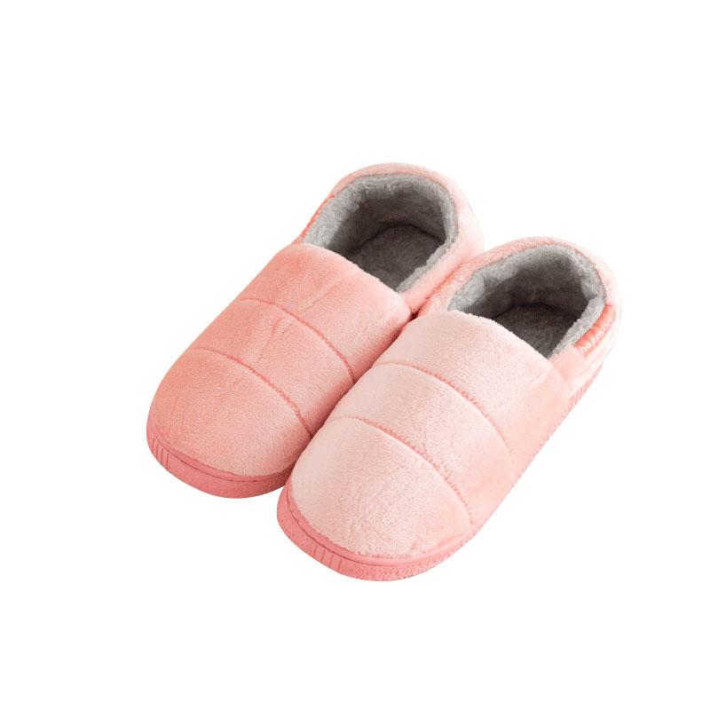 usb充电电暖鞋棉拖冬季加热鞋宿舍室内包跟暖脚电热鞋插电暖脚