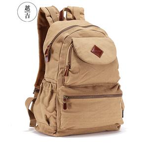 越古 双肩包男 男士背包 运动休闲韩版潮学生书包登山旅行电脑包