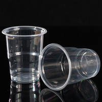 180ml thick disposable cup air travel aviation cup transparent plastic cup 1000 tea cup