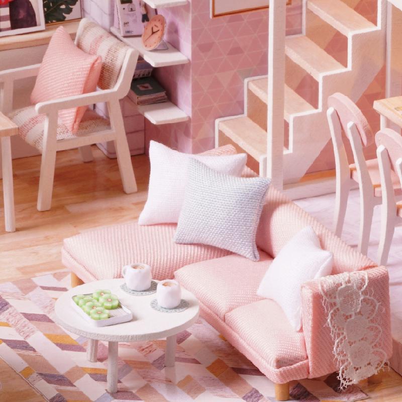 智趣屋diy小屋手工小房子中国风拼装模型木制玩具创意生日礼物女