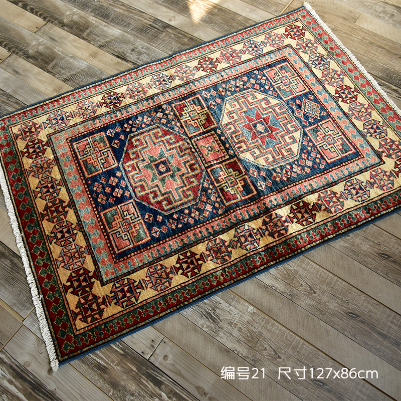 手工地毯编织法