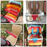 Baby stroller cotton pad baby umbrella cotton seat cushion children dining chair cushion seat cotton pad mat mat universal