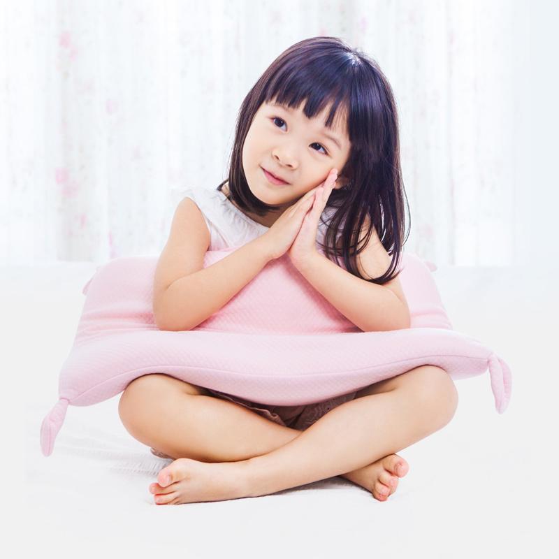 儿童枕头婴儿0-1小孩幼儿园2-3-6一岁夏季透气四季通用宝宝安抚枕