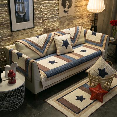 全棉布艺沙发垫四季通用简约现代客厅防滑全包盖萬能套罩巾坐垫子