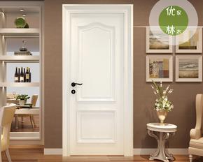 成都白色木门欧式实木门田园烤漆门卧室门室内门套装门厂家直销