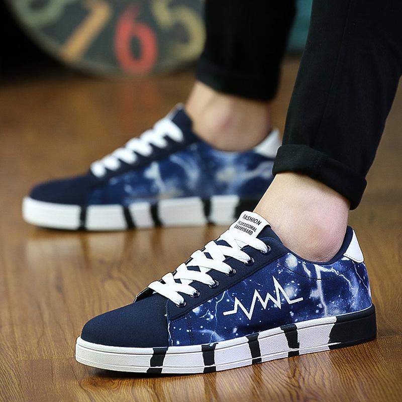 男孩子帆布鞋子大童休闲运动鞋板鞋高中小学生春季鞋17 14 1516岁