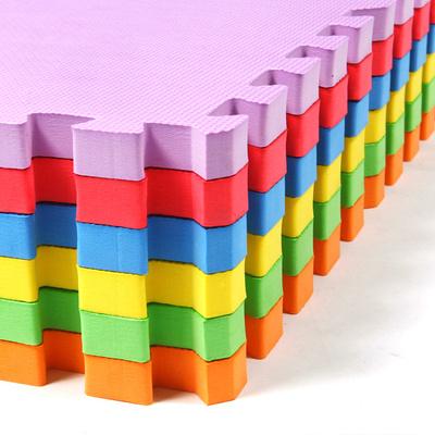 包邮环保儿童地板铺地垫子拼图泡沫块塑料榻榻米地毯4片6片套装