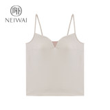 NEIWAI inside and outside zero-sensitive belt bra straps without steel ring pajamas home service tops women's cotton knit