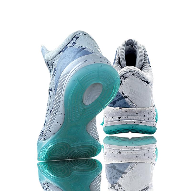 艾弗森篮球鞋男低帮夏季青少年学生运动球鞋透气蓝球鞋女高帮战靴