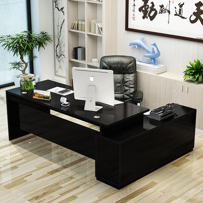 北欧电脑桌木质台式书桌单人写字台创意设计师简约现代老板办公桌特价精选