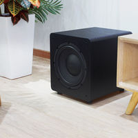 Knop Sound SW-100 overweight active subwoofer audio 8 inch / 10 inch home theater home subwoofer large box
