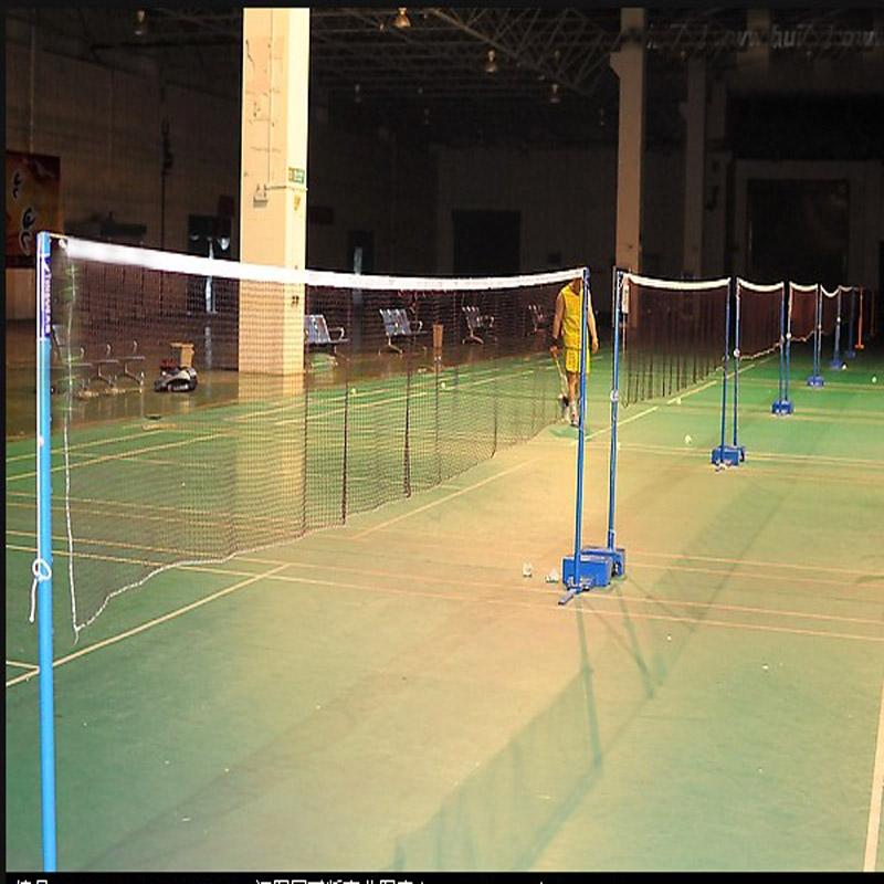 羽毛球网标准网室外羽毛球网架子羽球球球网家用羽毛球网架便携式