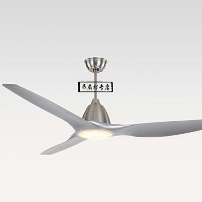 北歐新款現代簡約吊扇燈60寸大尺寸DC變頻大空間豪華單燈LED風扇雙十一折扣