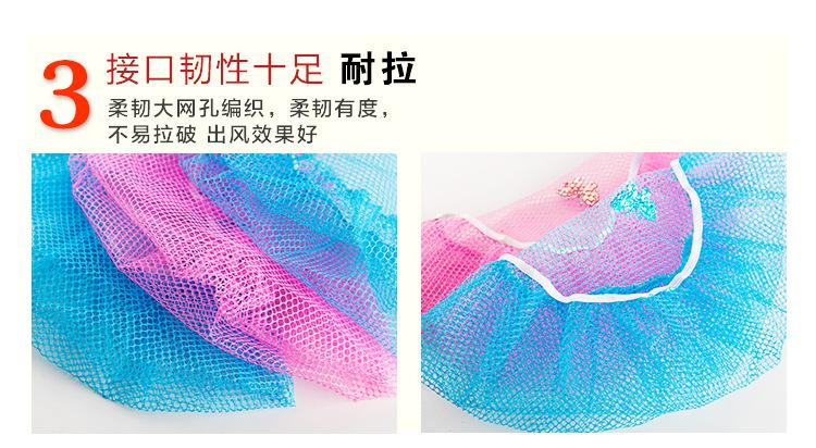 电风扇安全罩圆形保护网状儿童宝宝防护套防夹手指风扇罩防小孩