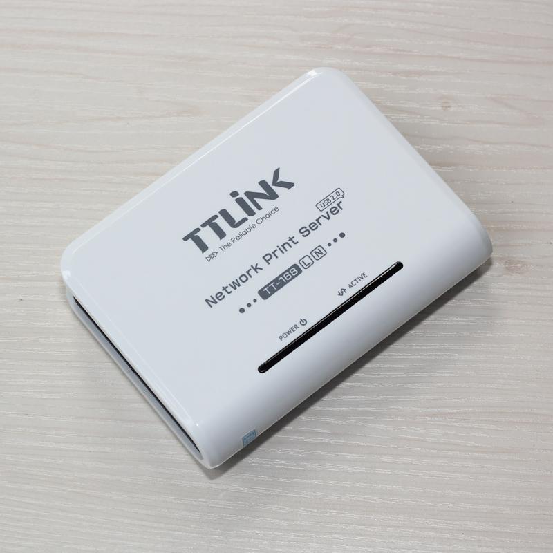 支持2台打印机服务器共享机双USB针式打印迷你服务器激光喷墨标签