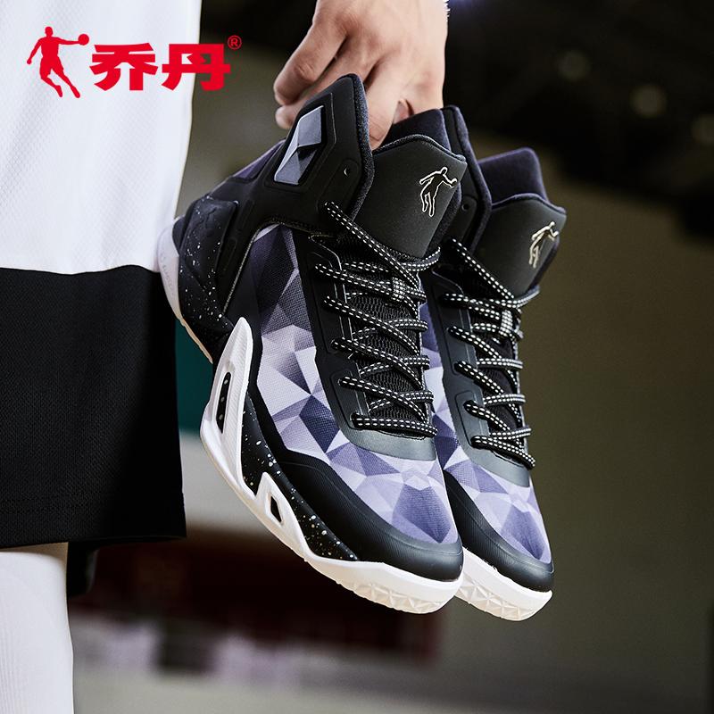 乔丹篮球鞋男鞋明星同款高帮aj1欧文4詹姆斯网面透气减震比赛球鞋