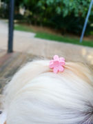 Comparable to the Korean catch clips can replace the rubber band Pet dog Teddy Maltese Yorkshire hairpin jewelry