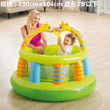 Children's slide pool inflatable baby home water spray baby play pool thickening oversized bathing pool