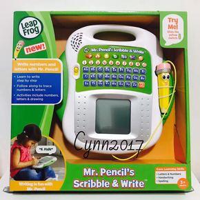 美国正品leapfrog跳跳蛙电子写字板描红机涂鸦画板学习机早教机