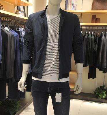 爆款 品牌男装 专柜正品 商务休闲夹克 外套 5QJK0021A  022A 023