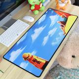 海贼动漫 王超大号鼠标垫 英雄加厚键盘垫 可爱游戏桌垫定制 联盟