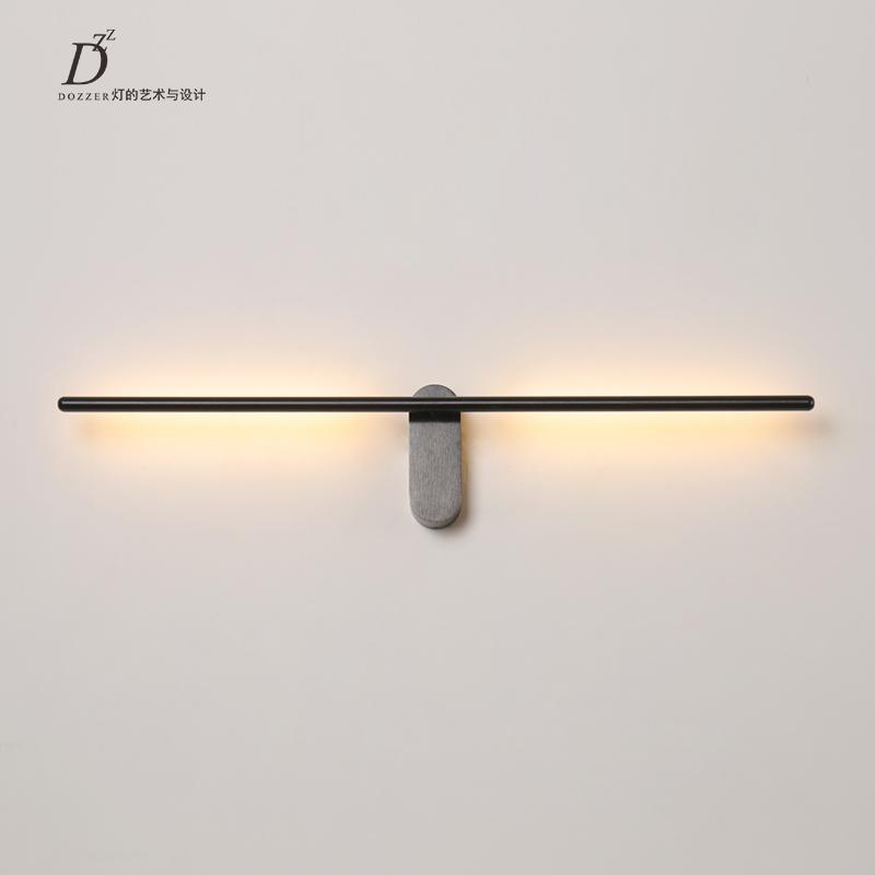 现代简约设计高端大气LED节能铝材防锈镜前灯客厅卧室过道壁灯