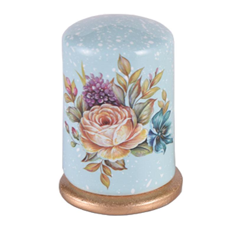 欧式牙签盒高档创意牙签罐客厅茶几餐桌陶瓷牙签筒家用装饰品摆件